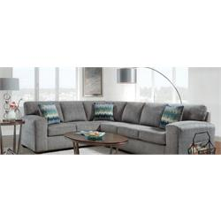 silverton pewter sectional 5950-SP-2PC Image